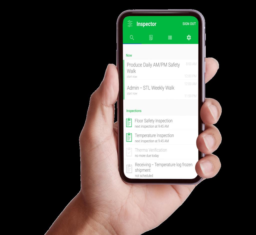 RiskLimiter Inspection Suite transforms paper logs into our behavioral based mobile application for food safety, sanitation, and risk management.